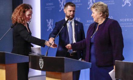 Helsedirektøren: Kan være lurt å kutte ned på håndhilsing etter koronapandemien – Karmøynytt