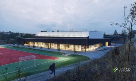 Nå kommer idrettshallen på Vormedal: – Hipp hurra! – Karmøynytt