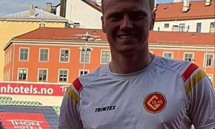 Mats Hauge (23) fra Norheim viste seg frem på Bislett – Karmøynytt