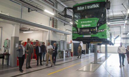 Slik er det nye bussanlegget – Karmøynytt