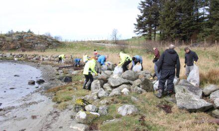 Pengegave til prosjektet «Vi rydder hele Karmøy» – Karmøynytt