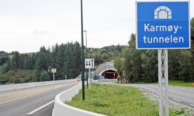 Stenger Karmøytunnelen på nattestid – Karmøynytt