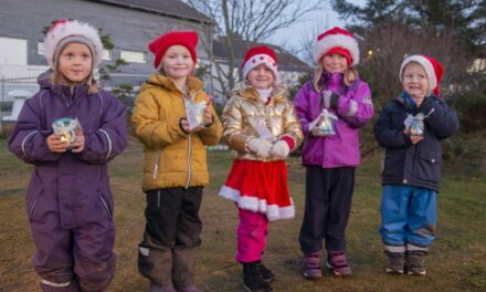 Denne barnehagen «nisset» bort lys og glede i Skudeneshavn – Karmøynytt