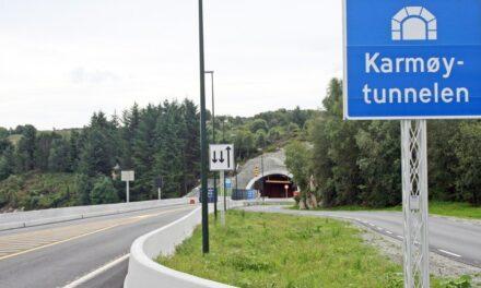Stenger Karmøytunnelen nattestid – Karmøynytt