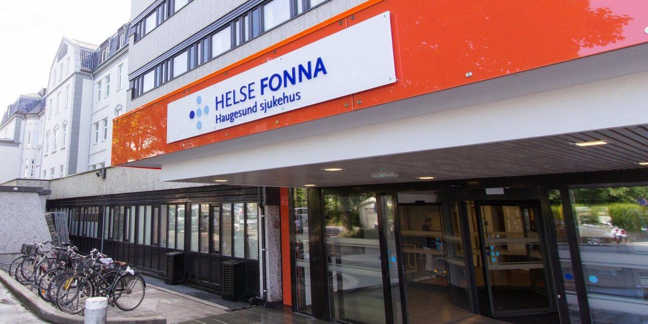 Ni korona-pasienter innlagt ved Helse Fonna – én får intensivbehandling – Karmøynytt