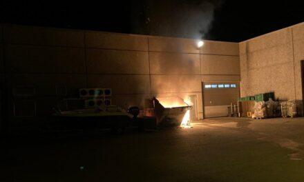 Brann i søppelcontainer i Skudenes – Karmøynytt