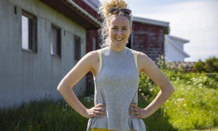 Linn Magritt (29) har erfaring fra politiet, barnevernet og skole. Nå etablerer hun et nytt tilbud for ungdom  på et småbruk i Burmavegen – Karmøynytt