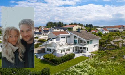 Milly (23) og Oscar (28) kjøpte Karmøys dyreste hus: – Det var en unik mulighet – Karmøynytt