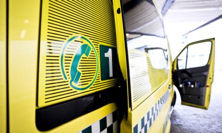 Mann i 20-årene fraktet til sykehuset etter fallulykke – Karmøynytt